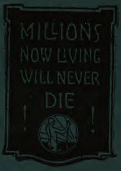 Millions now living will never die - Fin du monde en 1925